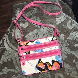 Handbags - Purse  Crossbody.  5 Compartments